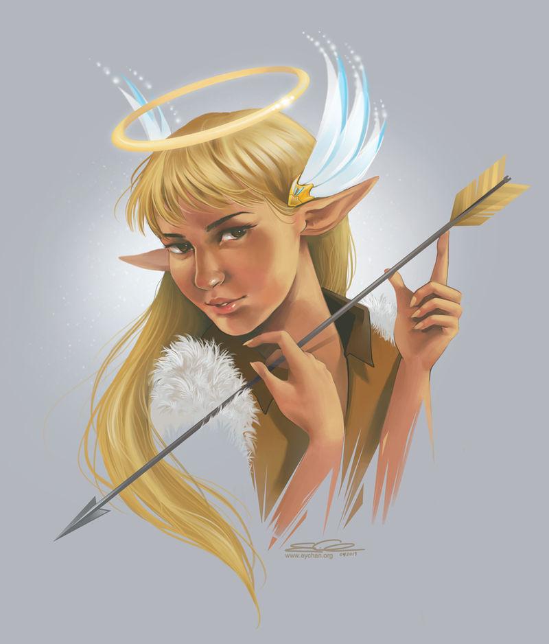 Archer Angel by eychanchan