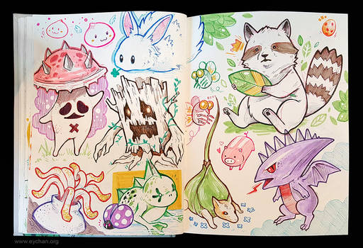 Sketchbook Page - Ragnarok Online