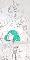 Sketchbook Random Stuff