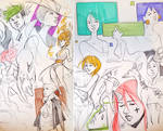 Sketchbook Mess of Stuff