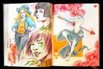 Sketchbook Page Lovelies