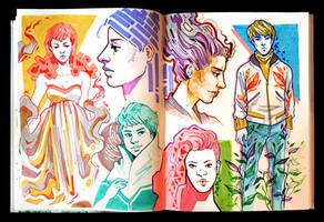 Sketchbook Page Flows