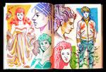 Sketchbook Page Flows