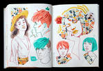 Sketchbook Page Patterns