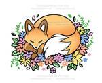 Fox Tattoo - Commission for Flint