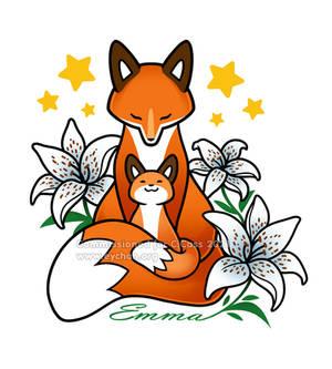 Fox Tattoo - Commission for C.C.