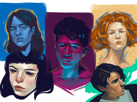Portrait Studies Part 1