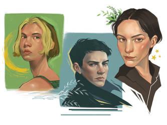 Portrait Studies Part 2