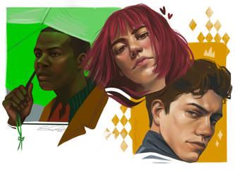 Portrait Studies Part 3