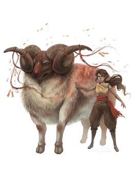 Ceremonial Ram