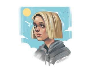 Sketch - Sunny Girl