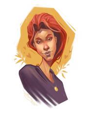 Sketch - Skewed Girl