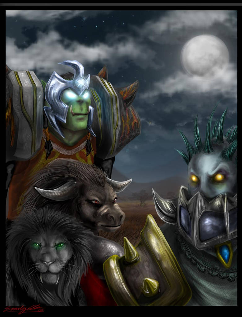 Warcraft Fanart - Horde by eychanchan