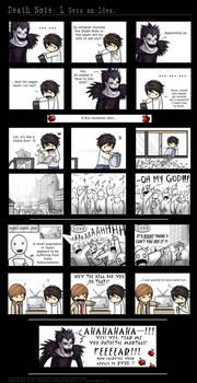 Death Note: L Gets an Idea.