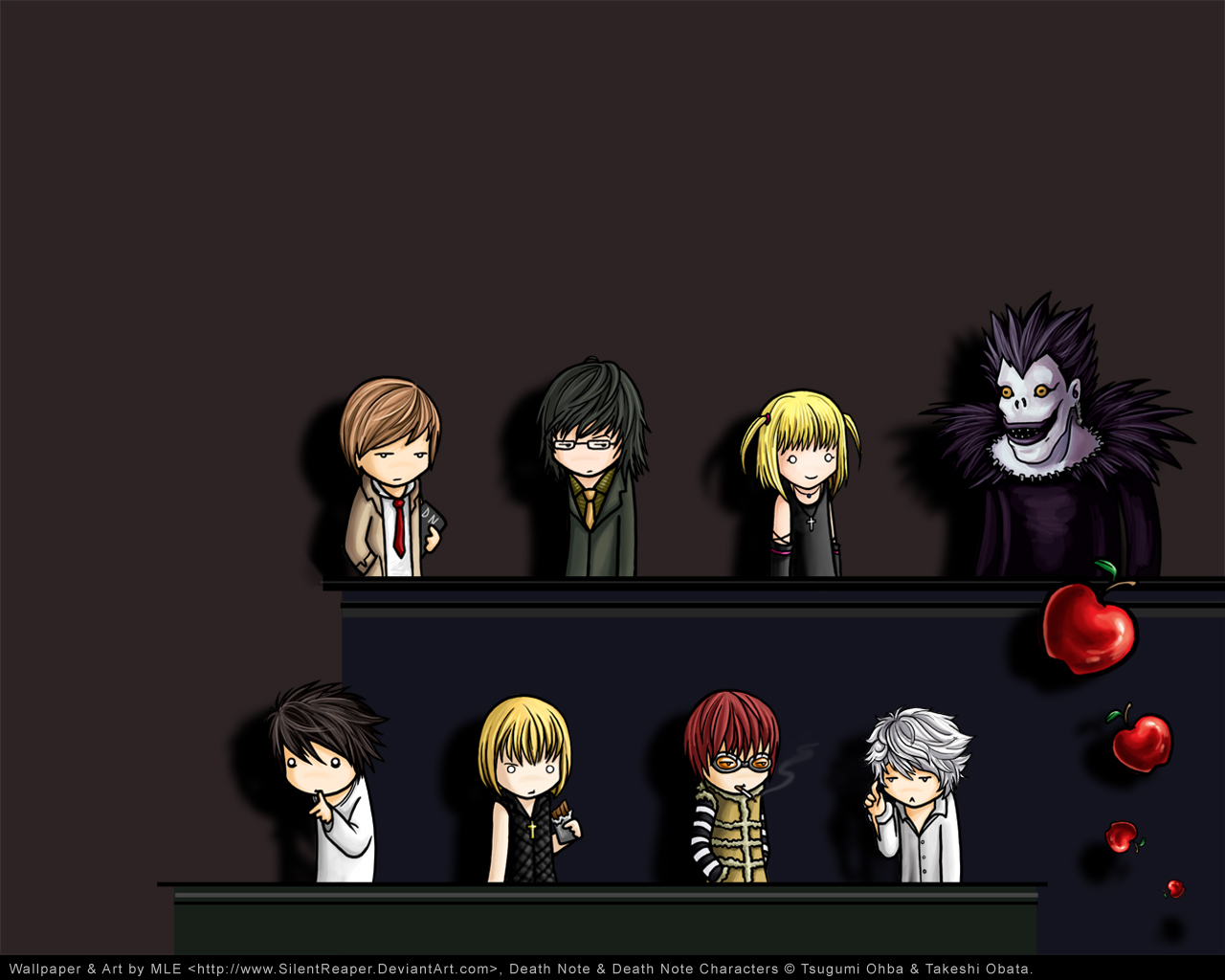 аватарки death note: