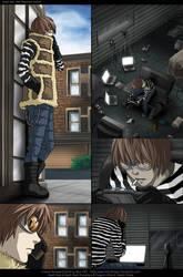 Death Note: Matt Anim. Artwork by eychanchan