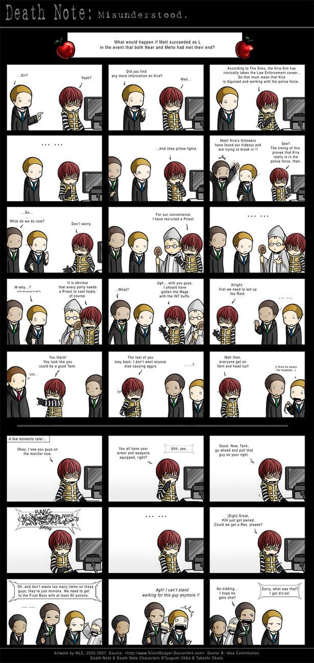 Death Note: Misunderstood by SilentReaper