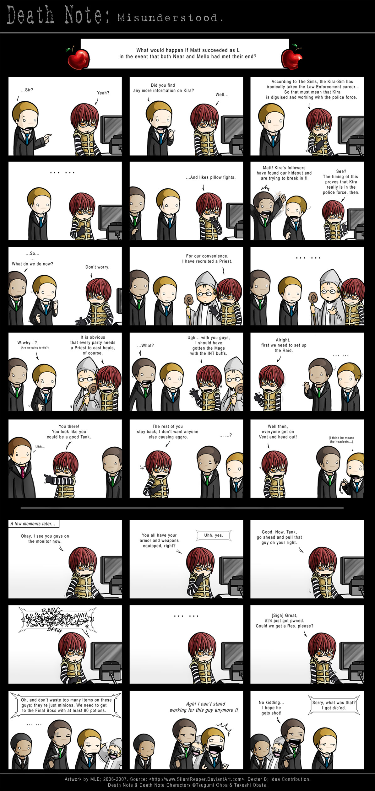 //Another Comic ~ DN: Misunderstood Death_Note__Misunderstood_by_SilentReaper