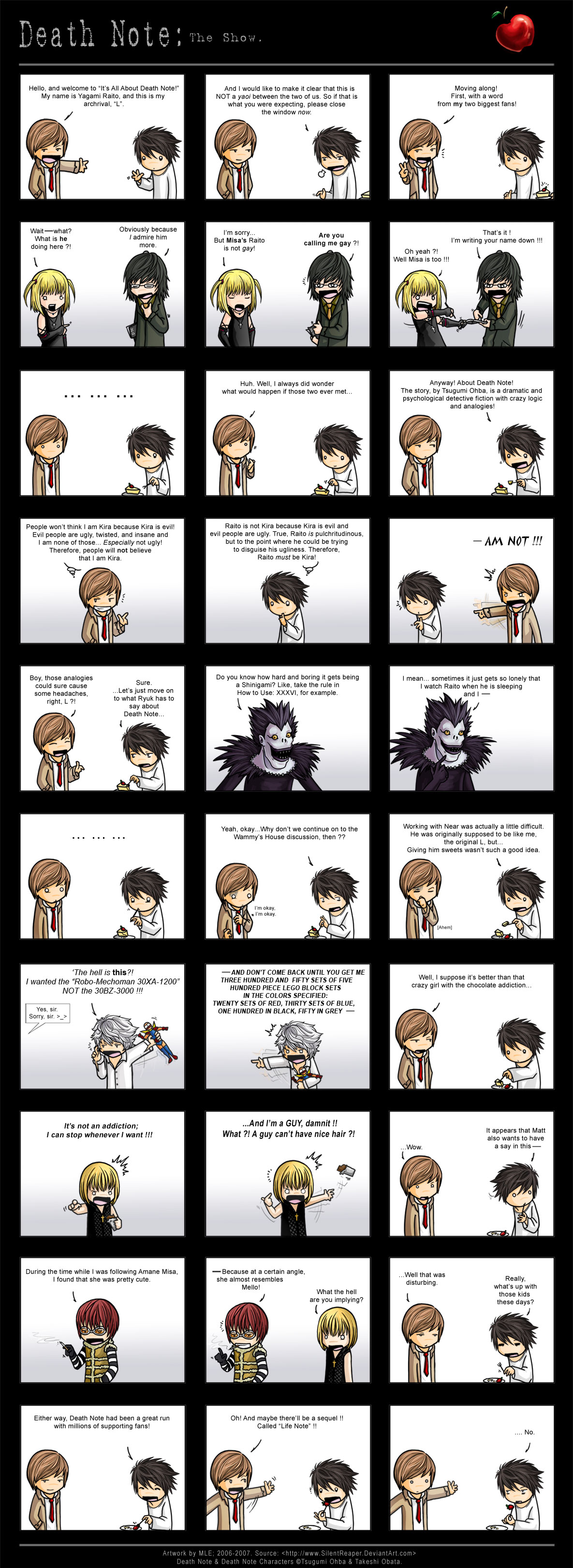 //Deathnote Commmiiiiiics~  Stupid Stretched out page Death_Note__DeathGod_org_Entry_by_SilentReaper