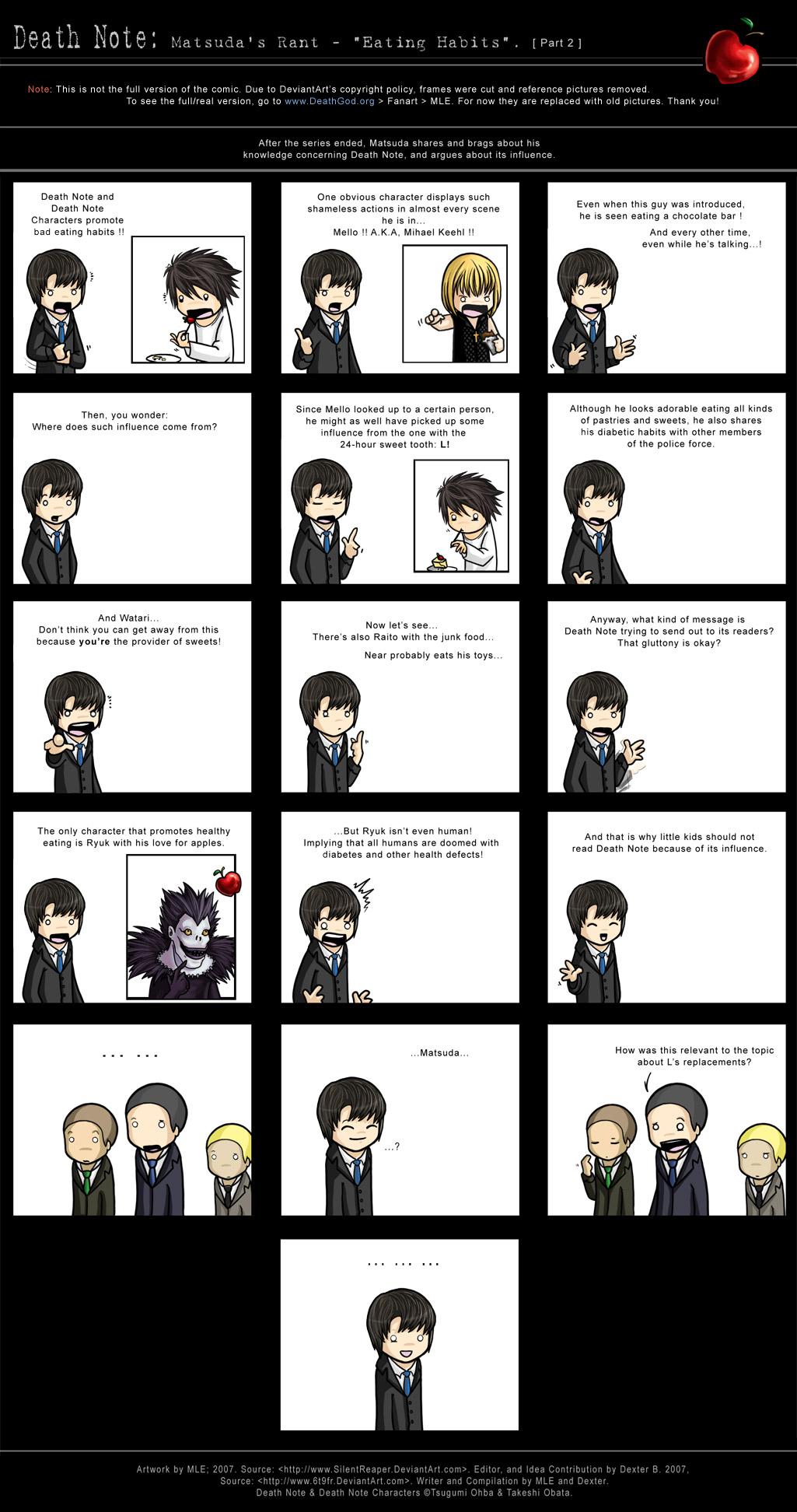 Matsuda's Rant: Eating Habits by SilentReaper