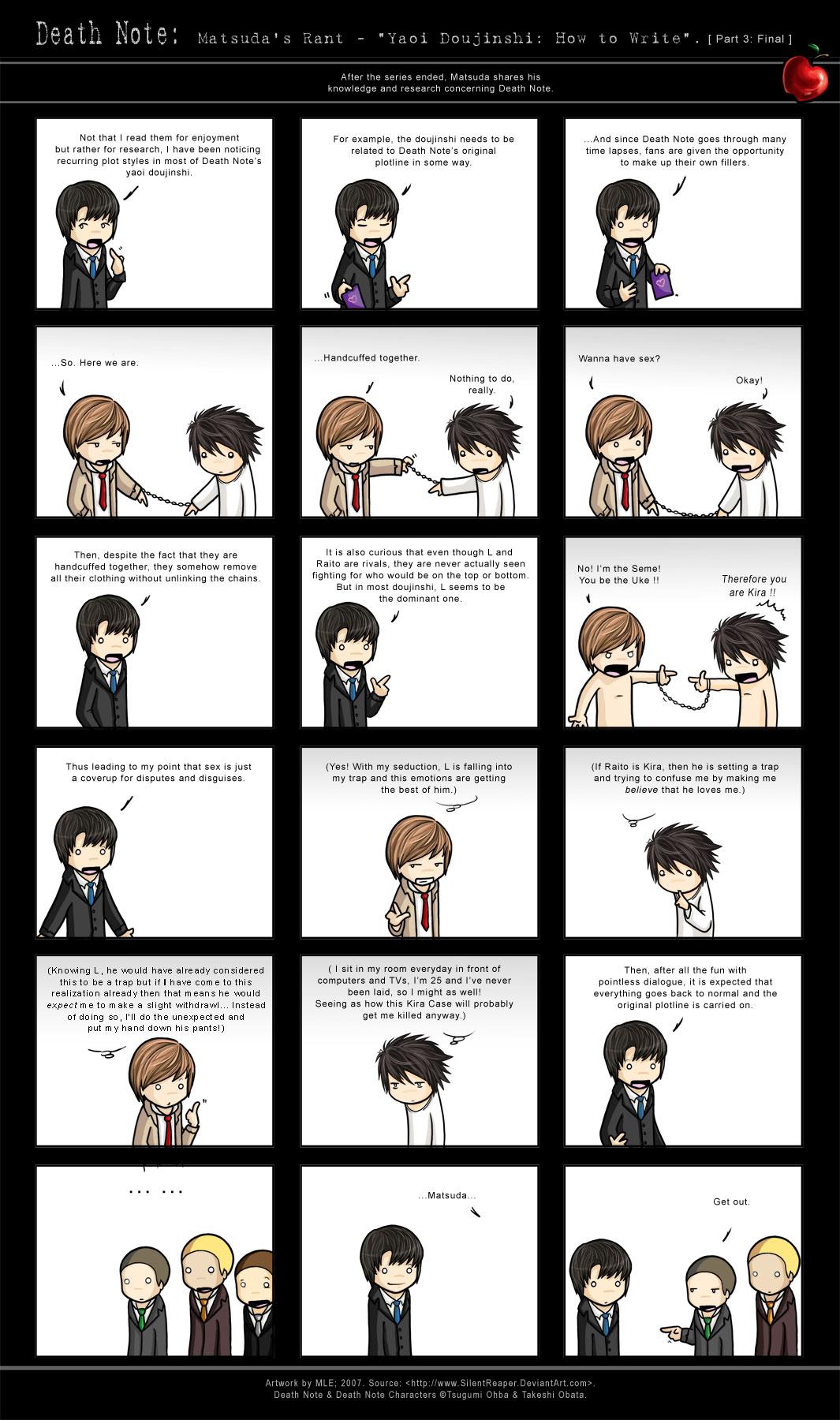 Matsuda's Rant: HTWrite Yaoi by SilentReaper