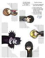 Death Note: FingerPuppet Set 1 by eychanchan