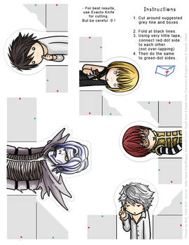 Death Note: FingerPuppet Set 2