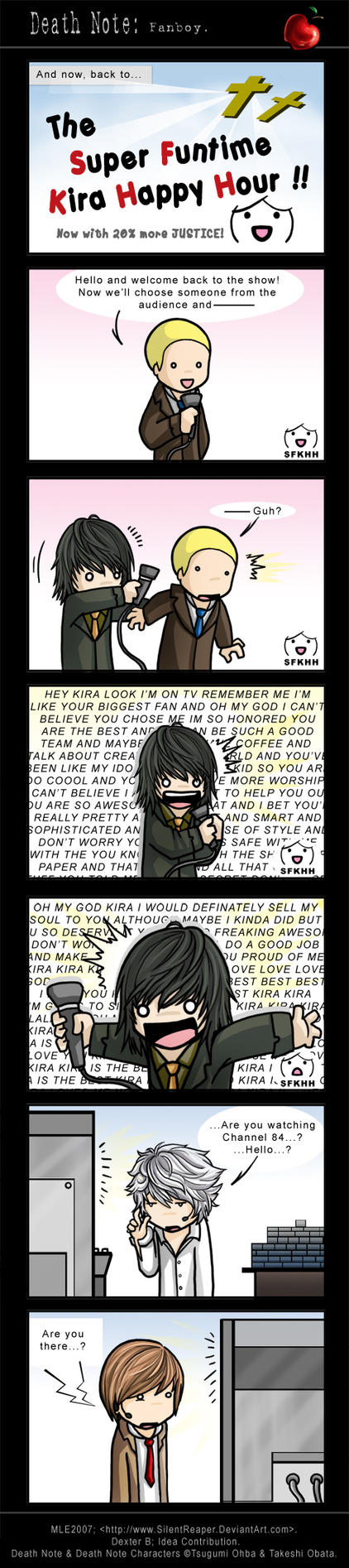 Death Note: Fanboy. by SilentReaper