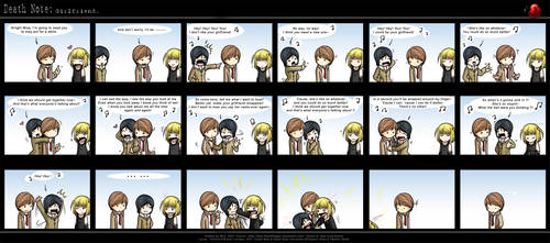 Death Note: Girlfriend. by eychanchan