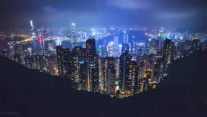 Hong Kong Rising by Unkopierbar