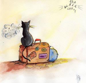 The Black Cat: Blacky by NDLevett