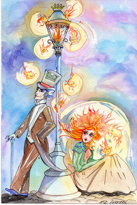 Lantern and light