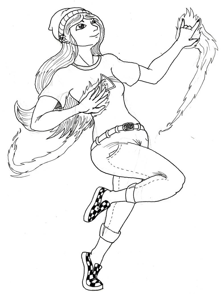 Modern-Day Sorceress