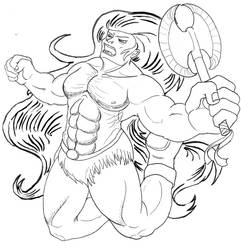 Leaping Barbarian