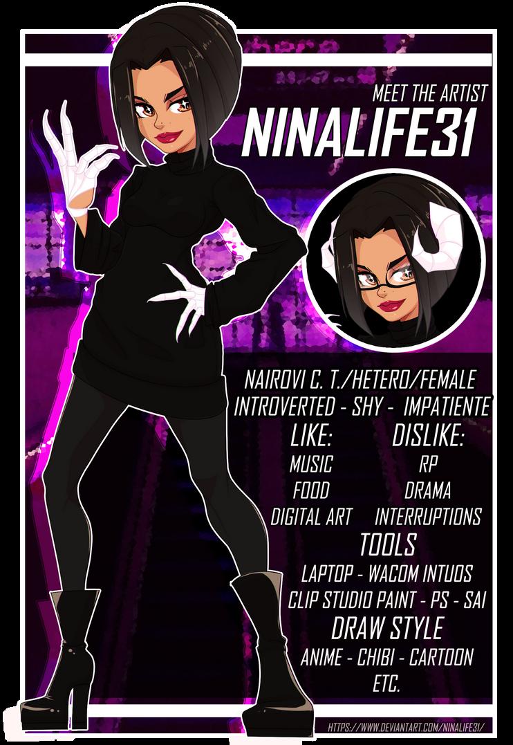 Meet the artist / Persona: Ninalife31