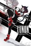 COMM: XUNON Cosplaying as Tifa by NinaLife31