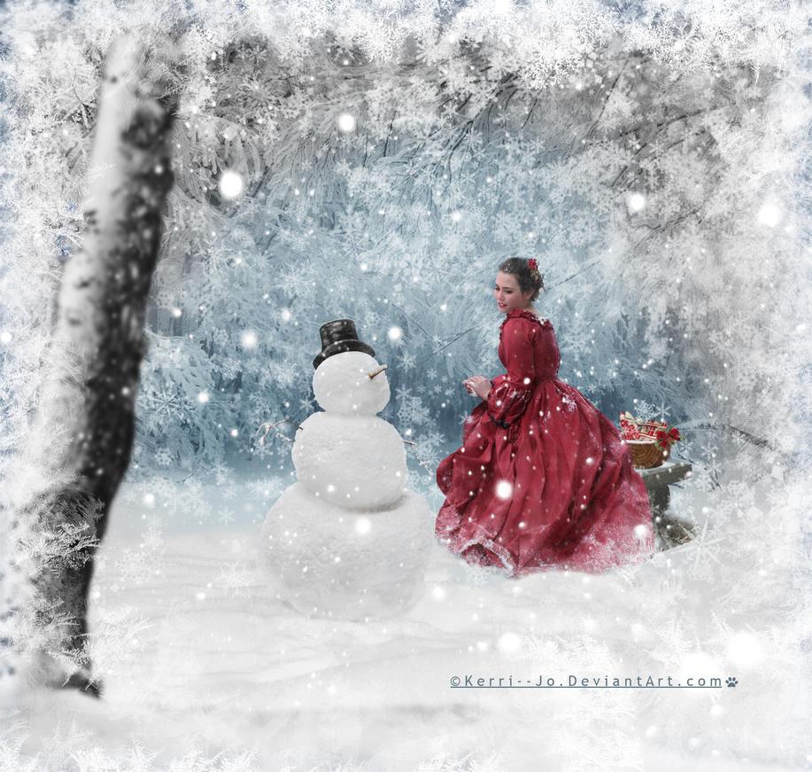 A Snowfall At Christmas by Kerri--Jo