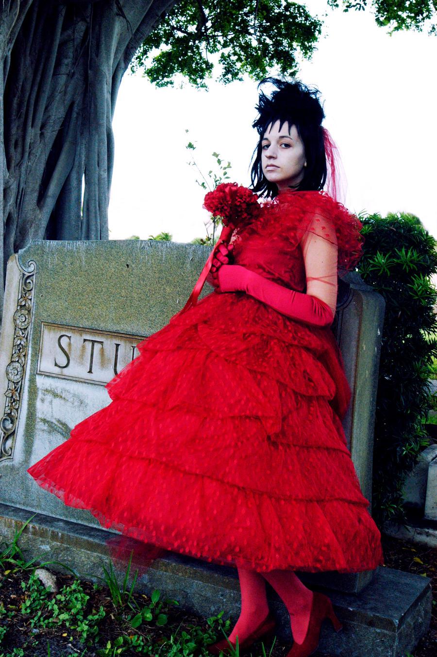 Beetlejuice 01 by pink royale on deviantart for Lydia deetz wedding dress