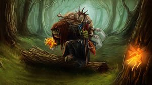 Fairy catcher by baklaher