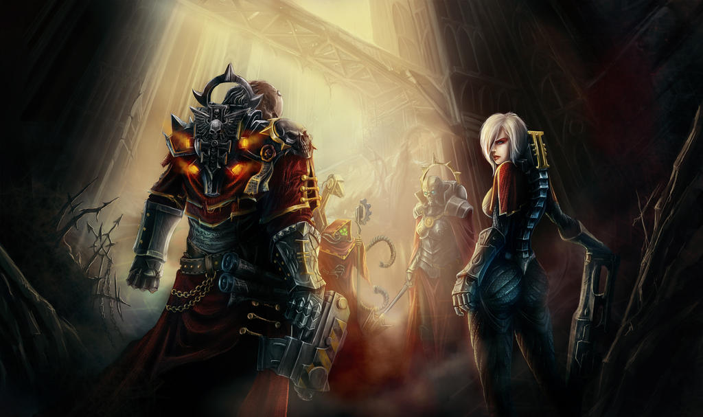 the servants of the Emperor by baklaher