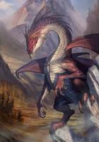 Rock Dragon by baklaher