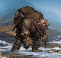 SnowTroll by baklaher