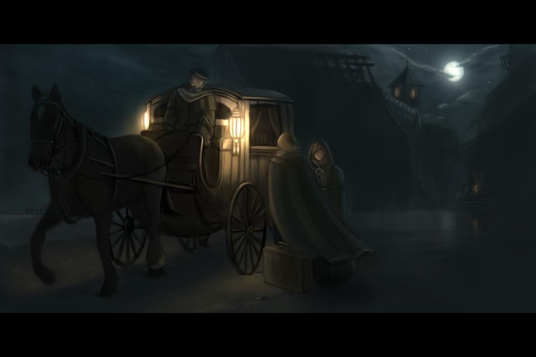 The Arrival by AetasRazael134