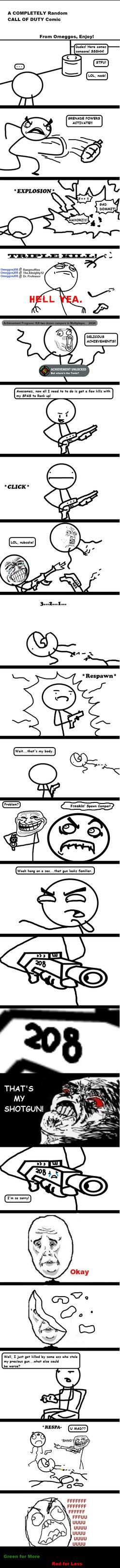 A Random CoD Comic by Omega208