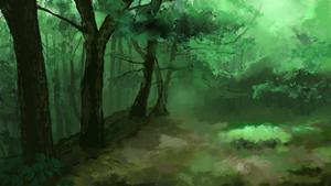 Hazy Forest speedpainting3