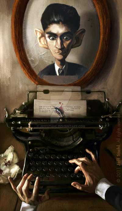Franz Kafka by JeffStahl
