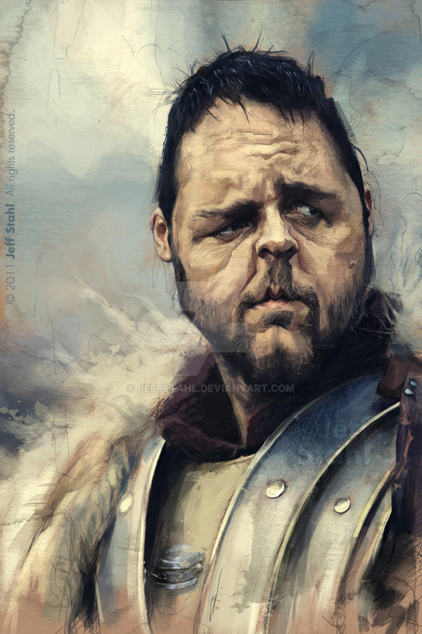 Russell Crowe by JeffStahl