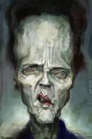 Chris Walken, by Jeff Stahl by JeffStahl