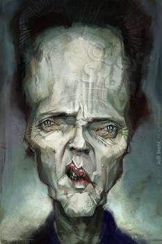 Chris Walken, by Jeff Stahl