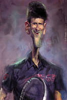 Novak Djokovic by JeffStahl